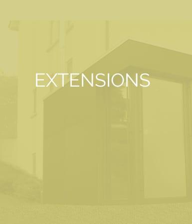 Fabrication et pose d'extensions ossature bois sur mesure