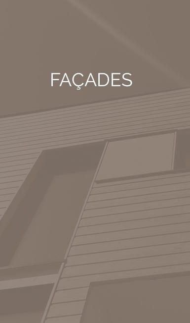 Large gamme de revêtements de façade composites et bois