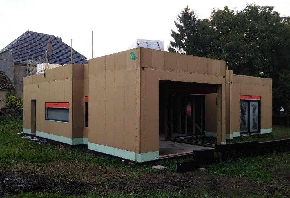 maison construction ossature bois Briey - RDC - 150m2-1