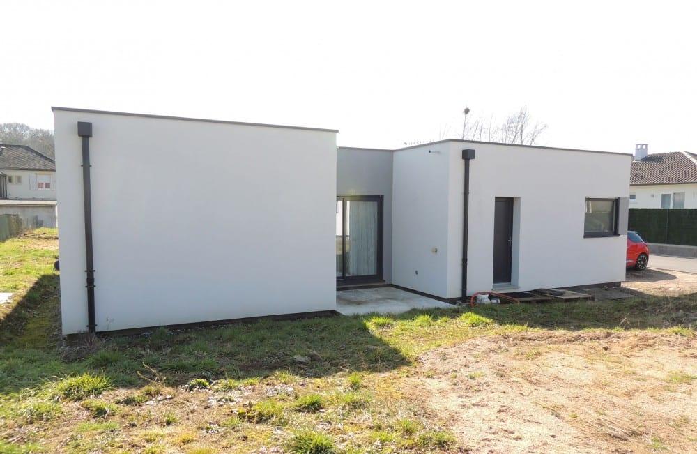 maison construction ossature bois Knutange RDC-150 m2