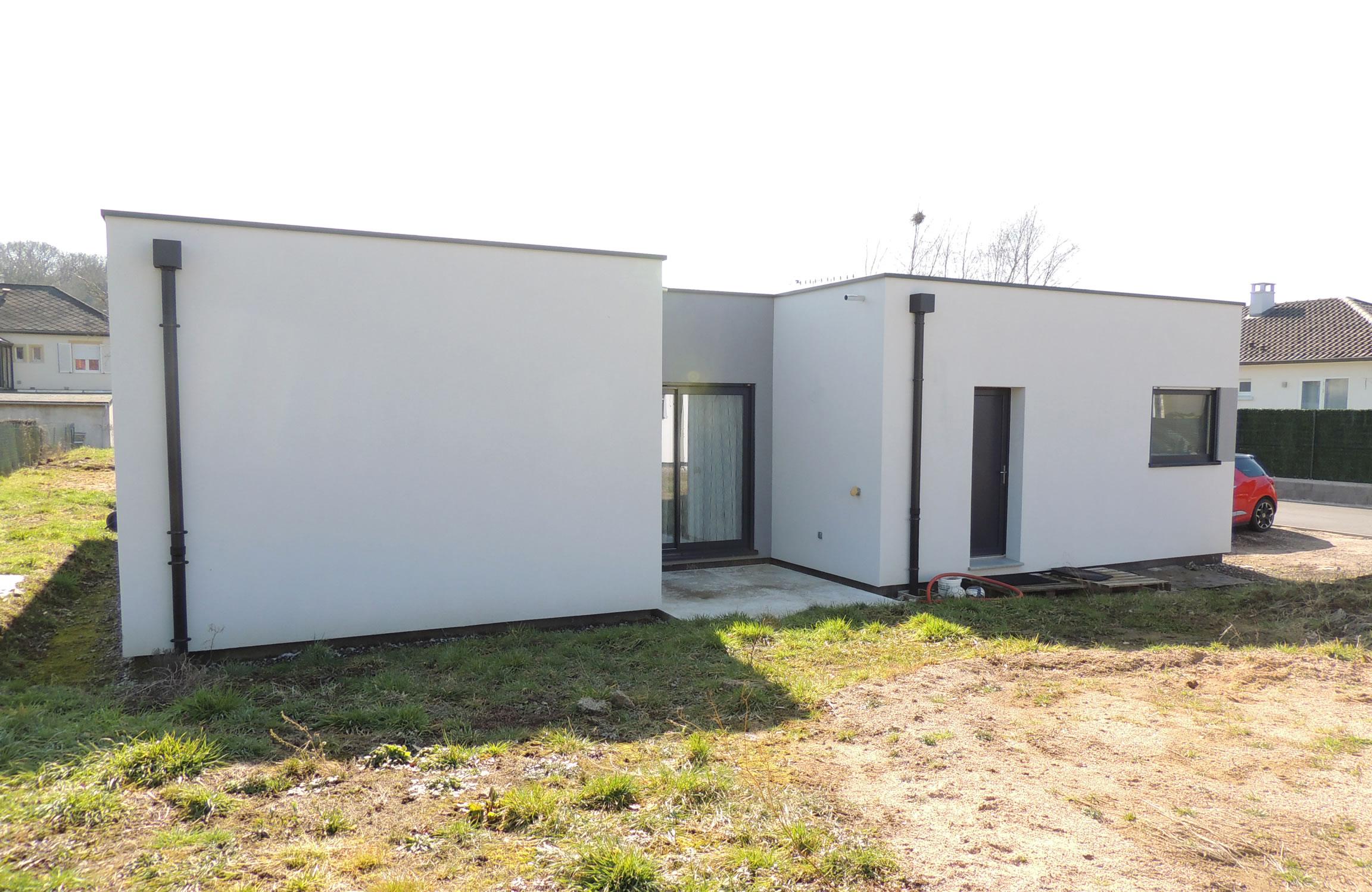 Knutange rdc 150 m2 maison ossature bois for Prix maison 150 m2