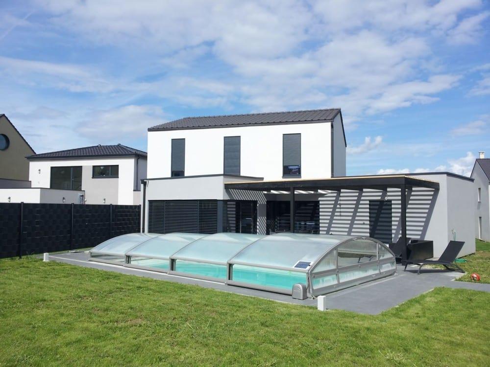Thionville r 1 145m2 maison ossature bois for Piscine thionville