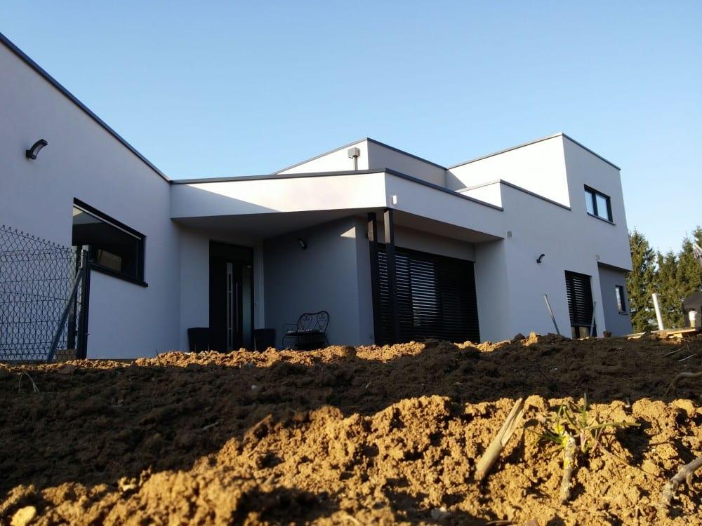maison construction ossature bois Vigy R+1-155m2