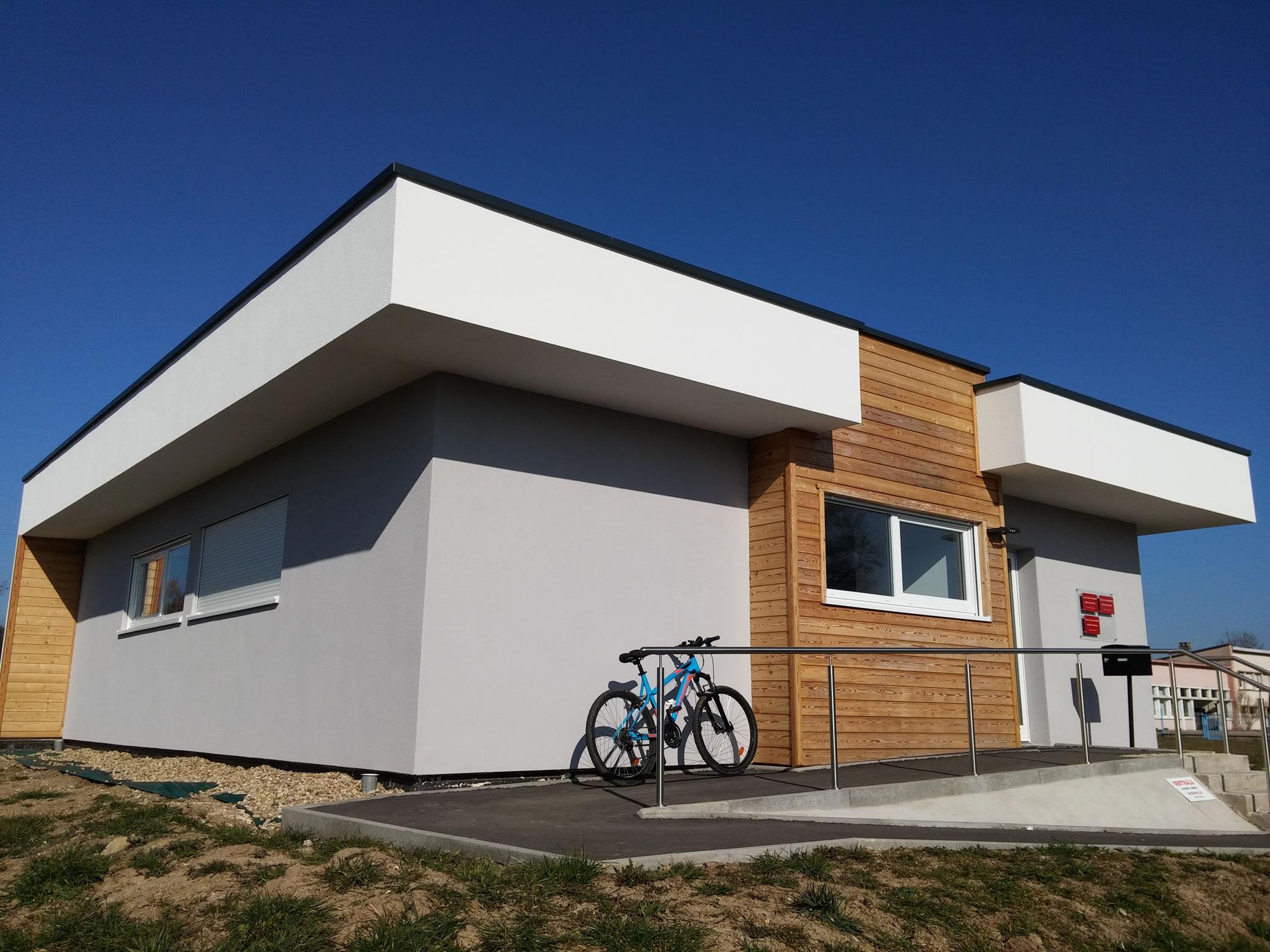 Waldwisse rdc 150m2 maison ossature bois for Prix construction maison 150m2