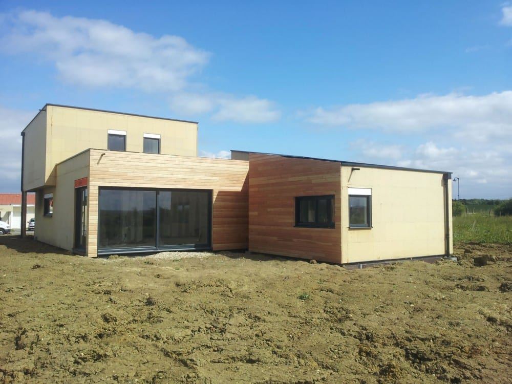 maison construction ossature bois argancy r+1 160m2