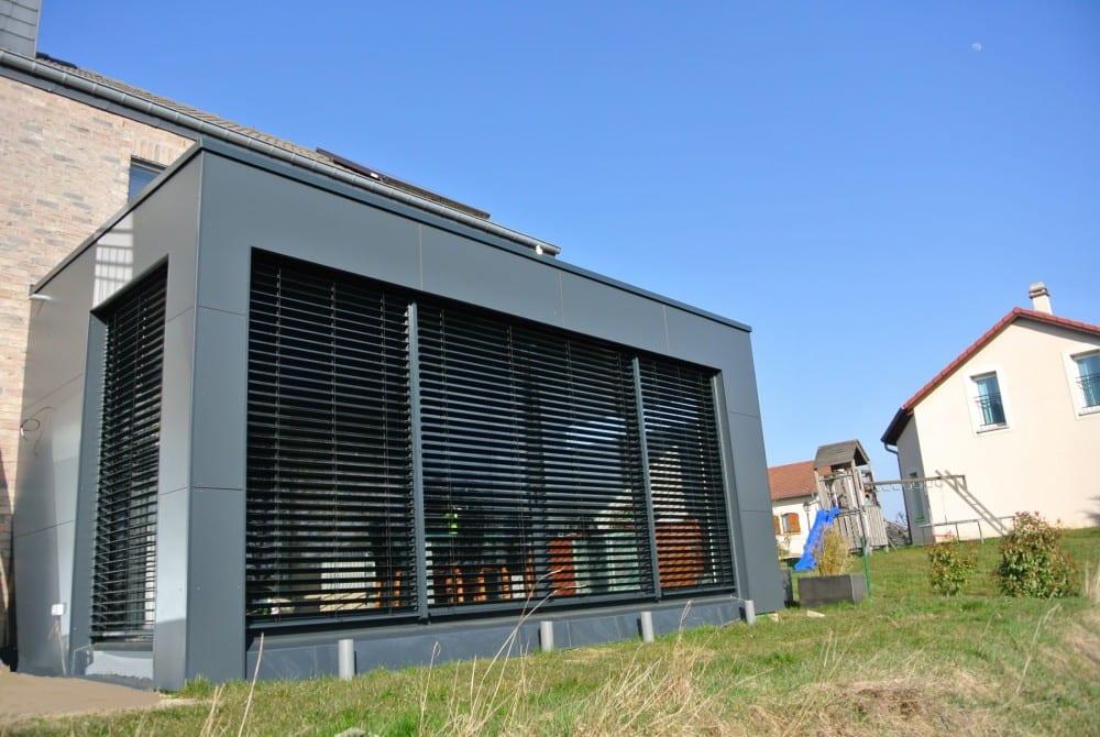 Extension ossature bois - 36m2 - Beyren les Sierck