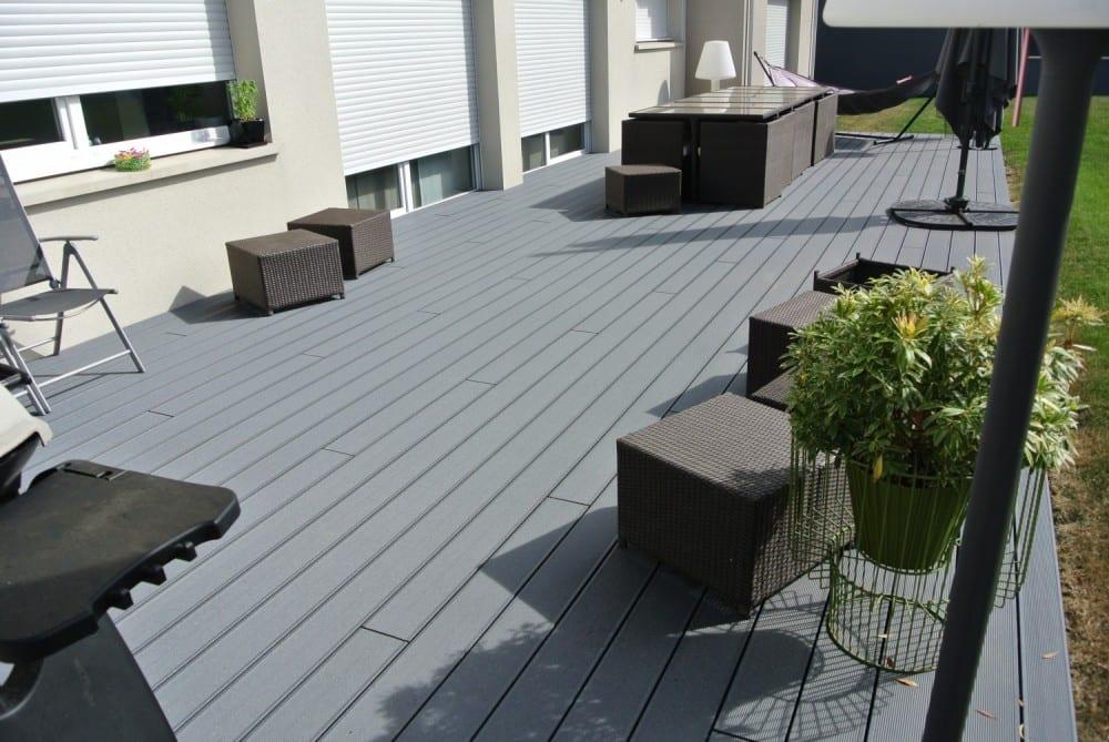 tecnhome-terrasse composite upm gris - 45m2 - kanfen - moselle - lorraine
