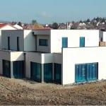 maison construction ossature bois - Ban Saint Martin - R+1 - 155 m2