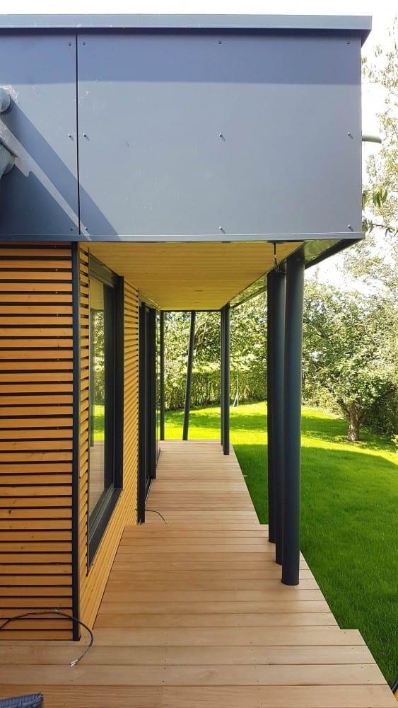Tecnhome - Terrasse bois Exotique - Garapa - 53m² - Yutz - Moselle - Lorraine