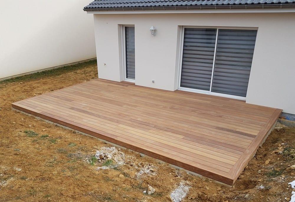 terrasse bois exotique cumaru 28 m. Black Bedroom Furniture Sets. Home Design Ideas