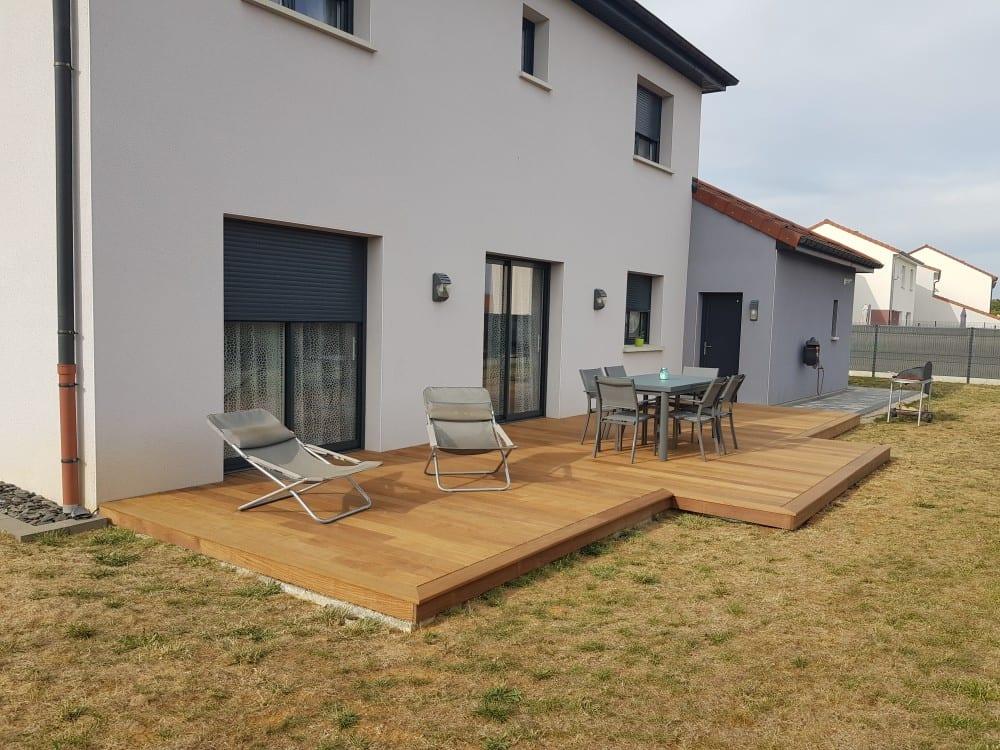 terrasse bois ip 36 m. Black Bedroom Furniture Sets. Home Design Ideas