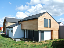 Breistroff la Grande – R+1 – 150m2 – Maison ossature bois