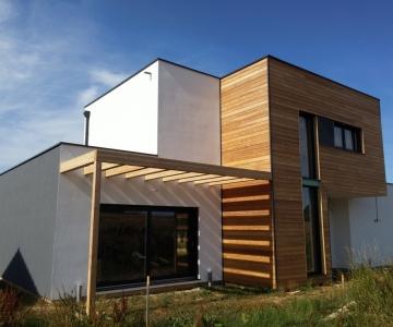 Petite Hettange – R+1 – 145m2 – Maison ossature bois
