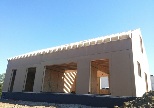Courcelles Chaussy – R+1 – 140 m2 – Maison ossature bois