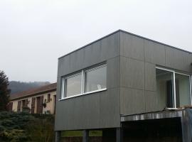 Extension – Ossature bois – 30m2 – Bardage composite