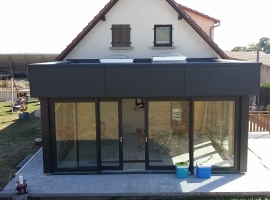 Bassing – 30m2 – Extension – ossature bois