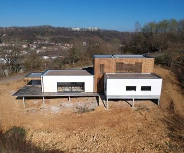Maison Ossature Bois – R+1 – 200 m2