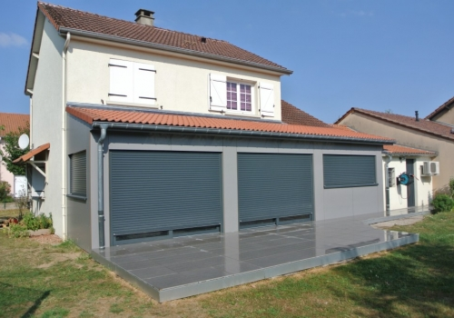 Extension maison ossature bois extension ossature bois for Extension maison 25m2