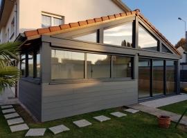 Extension Ossature Bois – Bardage Composite – 25 m2