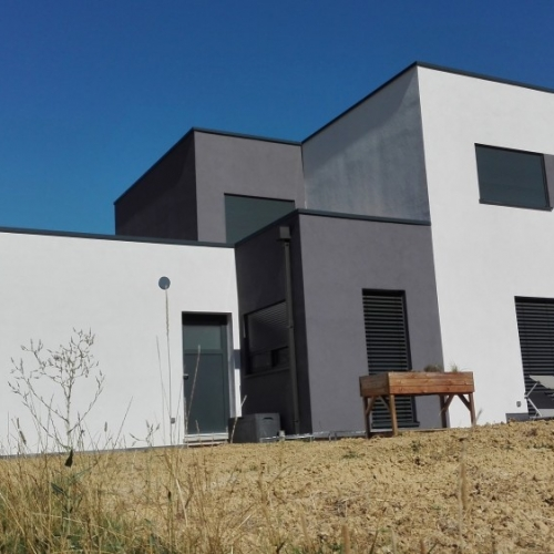 Tecnhome-maison ossature bois r+1 - 260m2 - thionville-moselle-lorraine