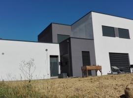 Elange – R+1 – 260 m2 – Maison ossature bois