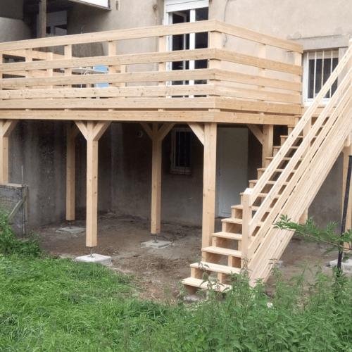 Fontoy - Terrasse bois - 20 m2