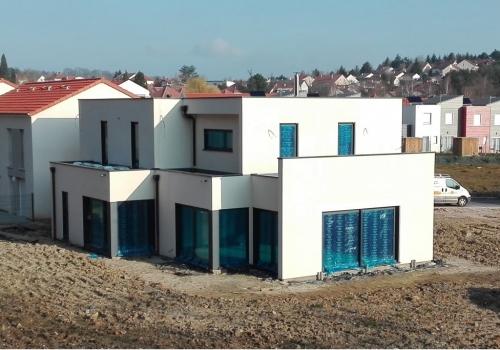 Le Ban Saint Martin – Maison ossature bois – R+1 – 155m2