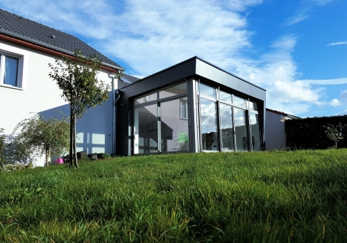 Extension Ossature bois – 40m²