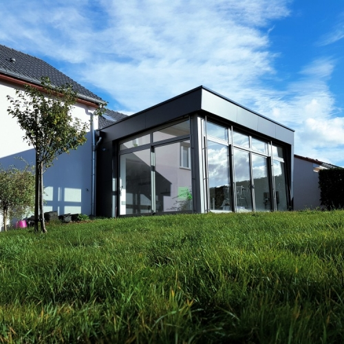 Tecnhome - Extension Ossature bois - 40m² - Mexy - Moselle - Lorraine