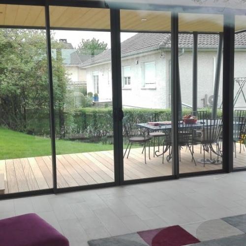 Tecnhome - Extension - Ossature bois - 40m2 - Bardage Bois - Yutz - Moselle - Lorraine