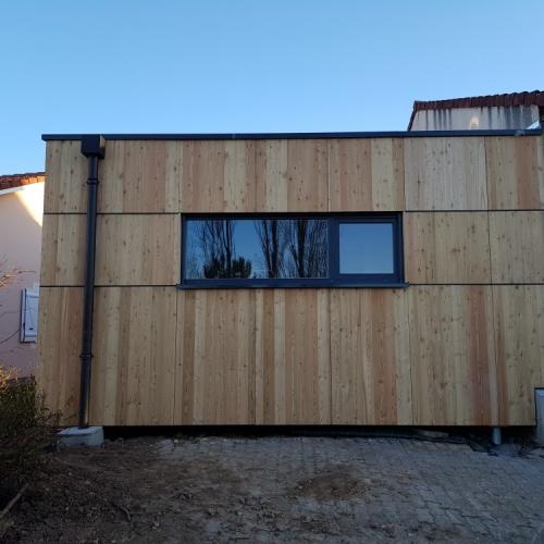 Tecnhome - Extension - Ossature bois - 55m² - Plappeville - Thionville - Moselle - Metz - Lorraine - Luxembourg