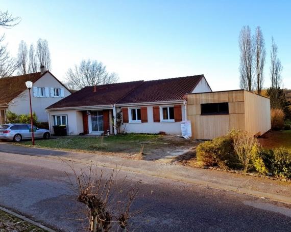Extension Ossature bois – 55m²