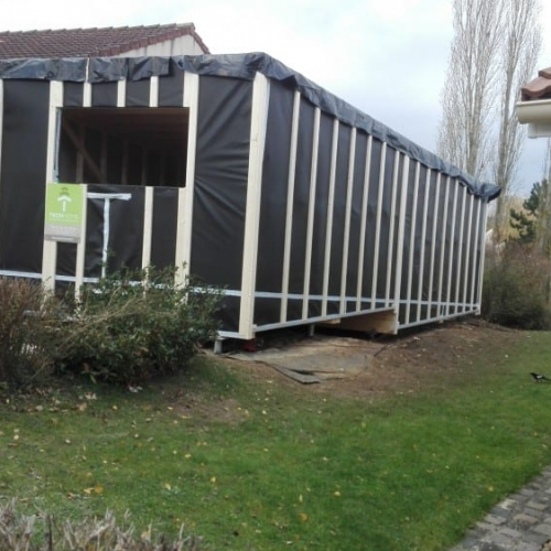 Tecnhome - Extension - Ossature bois - 55m² - Plappeville - Thionville - Moselle - Metz - Lorraine - Luxembourg