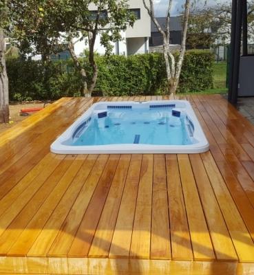 Terrasse Bois Exotique – Garapa – 40 m²