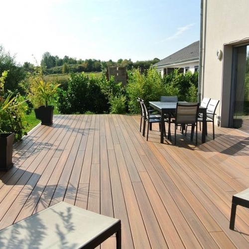 Tecnhome - Terrasse Bois Composite -Kanfen - Moselle - Lorraine