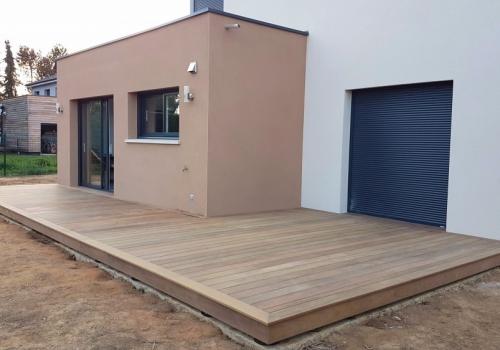 Terrasse Bois Composite – IPE – 36m²