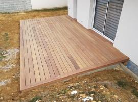 Terrasse Bois Exotique – Cumaru – 28 m²