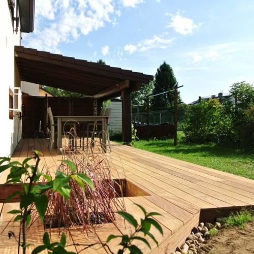 Tecnhome - Terrasse Bois Exotique - Cumaru - 31m2 -Kuntzig - Moselle - Lorraine