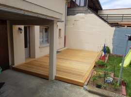 Terrasse Bois Exotique – Garapa – 24 m²