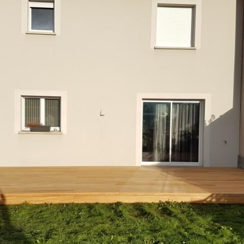 Tecnhome - Terrasse Bois Exotique - Garapa - 30 m² - Metzervisse - Moselle - Lorraine
