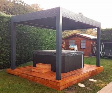 Terrasse Bois Exotique – Garapa – 10 m²