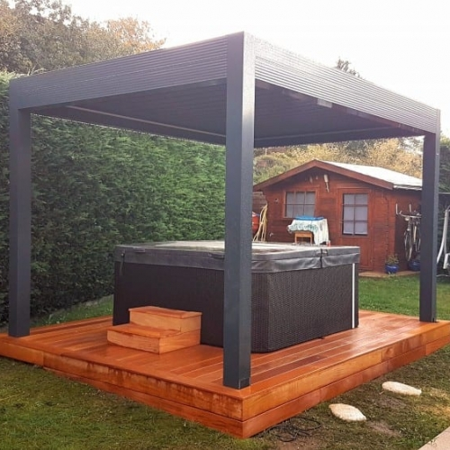 Tecnhome - Terrasse Bois Exotique - Garapa - 10 m² - Thionville - Moselle - Lorraine - Luxembourg