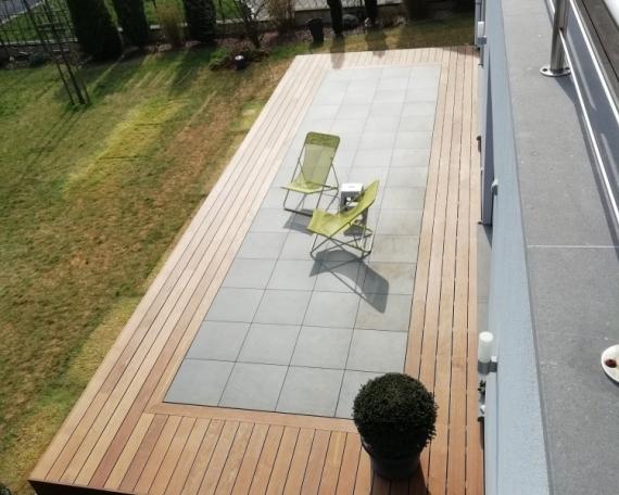 Terrasse Bois Exotique – IPE – 45m²