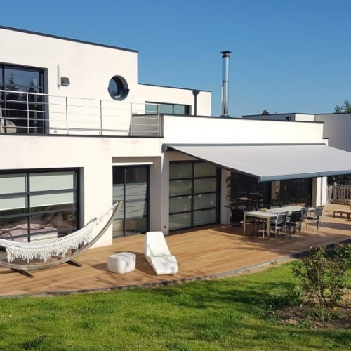 Tecnhome- Terrasse Bois Exotique - IPE - 68m² - Marly - Metz - Moselle - Lorraine