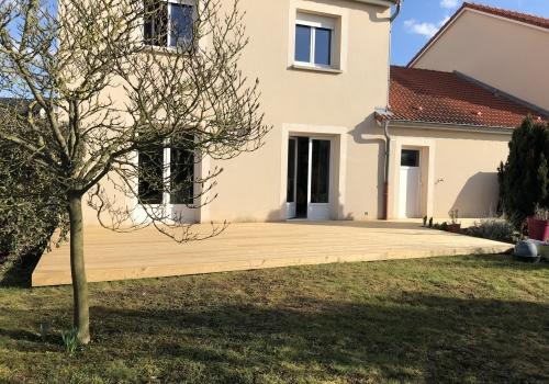 Terrasse Bois – Mélèze – 32 m²