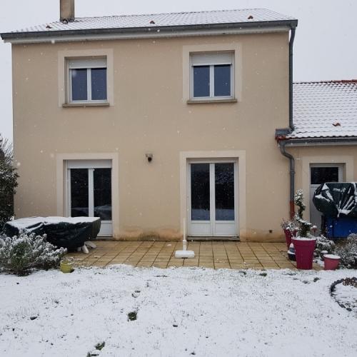 Tecnhome - Terrasse - Bois - Mélèze - 32 m² - Yutz - Metz - Moselle - Lorraine