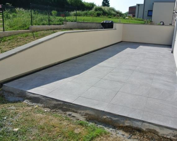 Terrasse – Grés Cérame – 42m2 – Thionville – Moselle