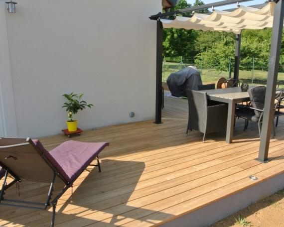 Terrasse Bois posite 32 m2