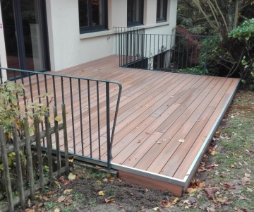 Terrasse Bois Composite – 24 m2