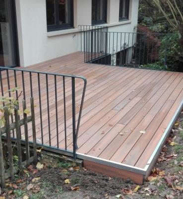 Portfolios tecnhome fabricant de maisons et extensions ossature bois terr - Terrasse composite prix m2 ...
